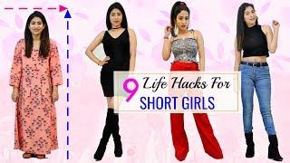 9 FASHION HACKS for SHORT Girls You MUST Try | #Fun #Sketch #Beauty #Anaysa