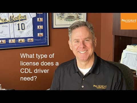 FAQ - What type of license does a driver need? - Steve (1st Run)