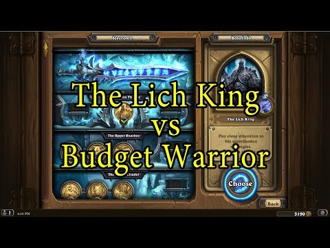 Hearthstone: The Lich King with a Budget Warrior Deck