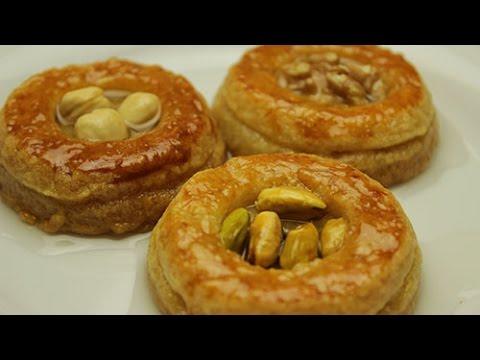 Turkish Butter Cookies - Nightingale's Nest Dessert Recipe