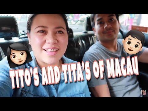 VLOGMAS: TITO'S & TITA'S OF MACAU + NANGYARI SA IMMIGRATION