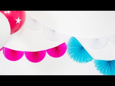 How to Make Decorative Bunting | Sunset