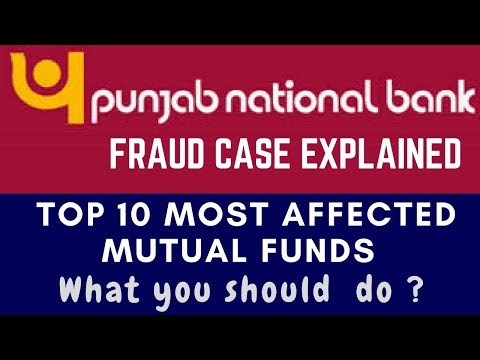 PNB FRAUD CASE Explained : Top 10 Most Affected Mutual Funds ? And Its Effects On Stocks Market.
