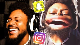 WHY AM I LAUGHING SO HARD | Snapchat and Instagram Filters