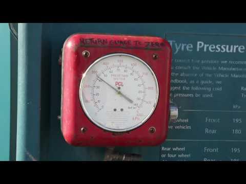 New Zealand Tyre Pressure Gauge.