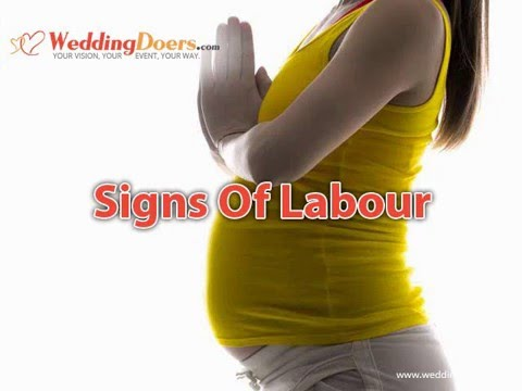 Signs Of Labour
