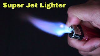 How To Hack a 25¢ Lighter To a Jet Lighter!