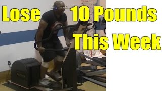 To Lose 10 Pounds in a WEEK = Do This Elliptical Workout