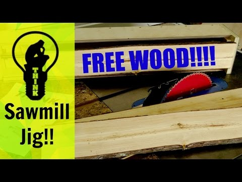 How To Make A Table Saw Sawmill Jig