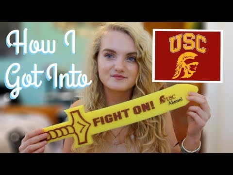 HOW I GOT INTO USC! | Tips + Tricks
