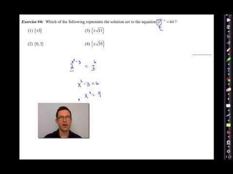 Common Core Algebra II.Unit 4.Lesson 5.The Method of Common Bases