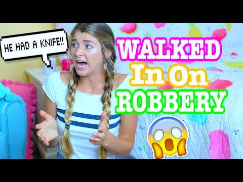 STORY TIME! WALKED IN ON HOUSE ROBBERY!