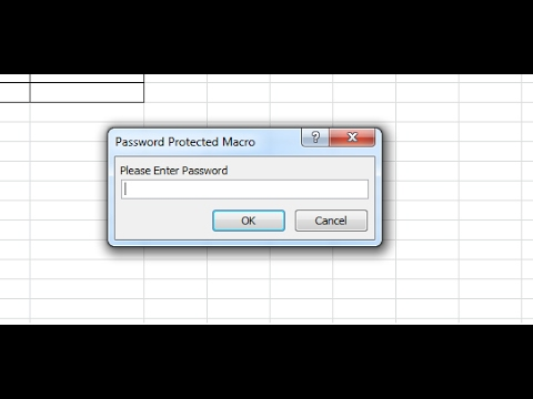 Tutorial - Password Protect Macro
