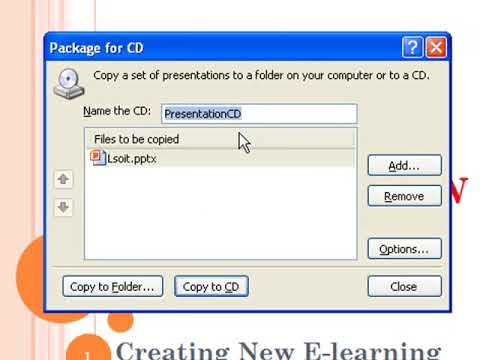 Package Presentation for CD Power Point Video Tutorials in Hindi  - WWW.LSOIT.COM