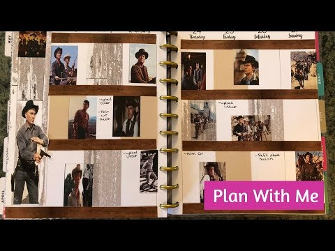 Plan With Me The Magnificent Seven Theme Happy Planner