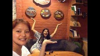 Vlog #8 | Visiting Majnu Ka Tila   Ama Cafe | Daily Vlogs