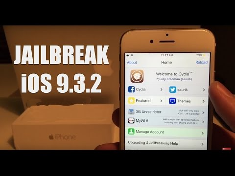 *June 2016* How to Jailbreak IOS 9.3.2 and IOS 9.3.1 9.3 and install Cydia
