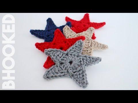 Crochet Star Applique