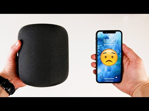 The Apple HomePod doesn't play nice with the iPhone X