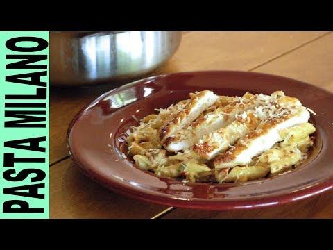 GLUTEN FREE PASTA MILANO WITH CHICKEN in Creamy Sauce Italian Recipes Gluten Free Habit Cooking