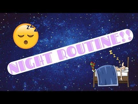 MY NIGHT ROUTINE!!   Maya's Diy Channel