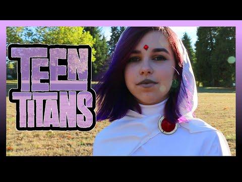 Teen Titans White Raven DIY Halloween Costume | Makeup Tutorial & Cosplay