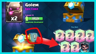 SECRET CODE FOR FREE LEGENDARY CARDS FROM CLAN CHEST! Unlocking Legendary Cards: Clash Royale