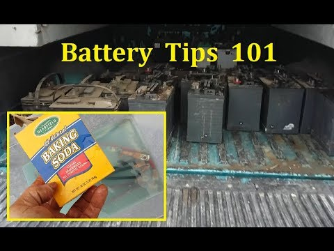 Great battery care & Off Grid battery tips - Battery Service Items Below