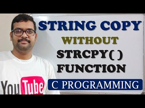 C PROGRAMMING - STRING COPY WITHOUT USING STRCPY FUNCTION