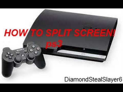 How To Split Screen In Minecraft ps3!