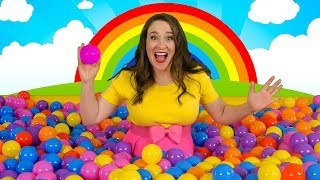 Ball Pit Party | Kids Song for Learning Colors - Giant Ball Pit Show!