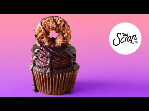 SAMOA GIRL SCOUT COOKIE CUPCAKES - The Scran Line