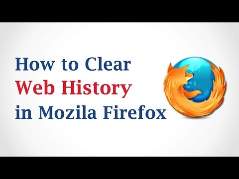 How to clear web browsers cache, cookies, and history of Mozilla Firefox