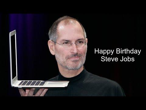Steve Jobs | Birthday Video Greeting | inviter.com