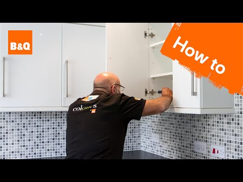 How to replace kitchen unit doors