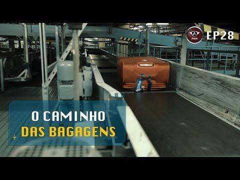 O Longo Caminho das Malas no Aeroporto de Guarulhos