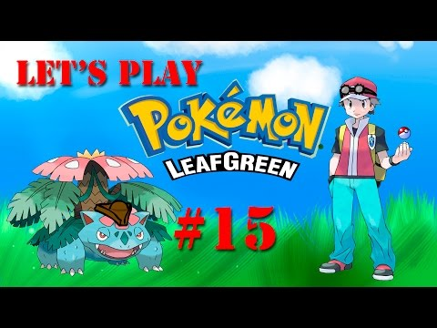 Let's Play Pokemon Leaf Green – Part 15: Soup's On! Catch That Abra