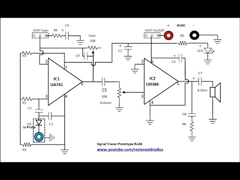 How To Build A Signal Tracer - Part 2