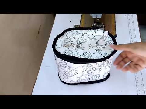 How To Make Lunch Box Bag From Waste Cloth At Home || How To Sew Your Own Lunch Box Bag