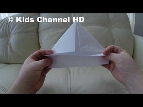 How to Make a Paper Boat -Kids Channel HD