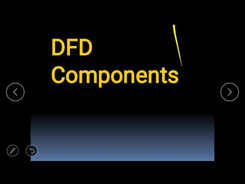 DFD components in hindi with diagram explain