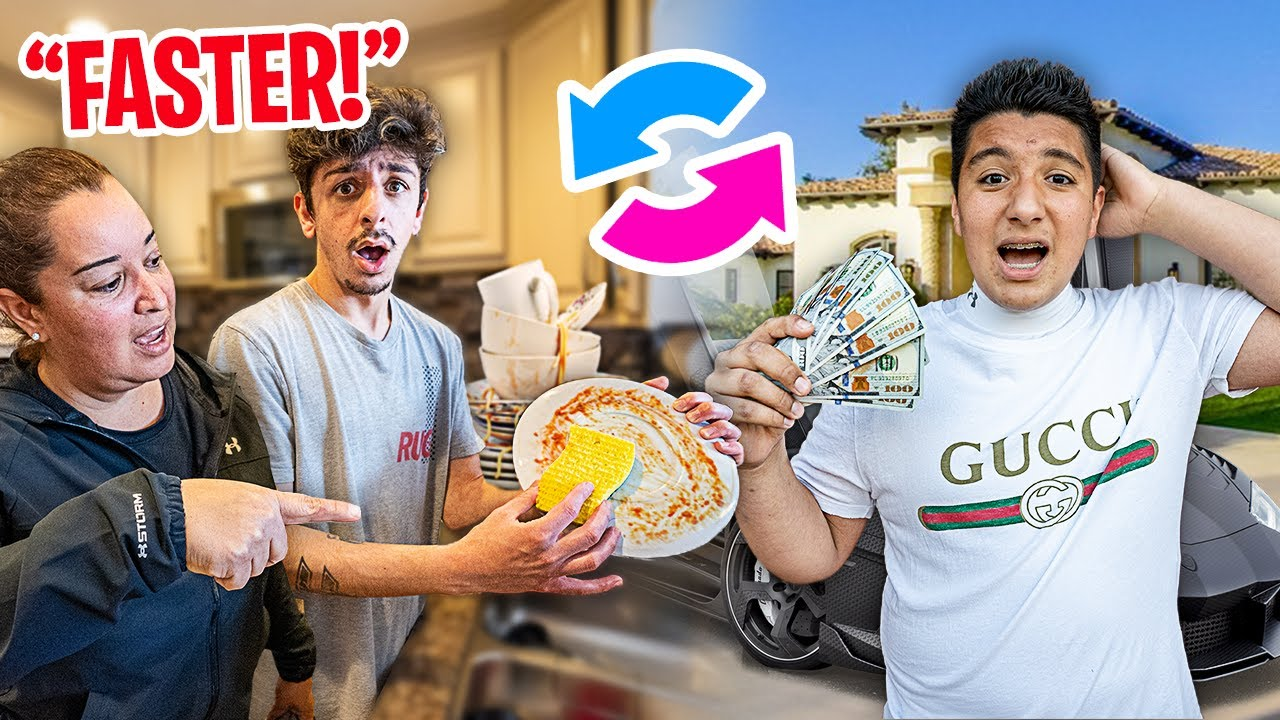 Switching Lives with a Subscriber for 24 HOURS!!