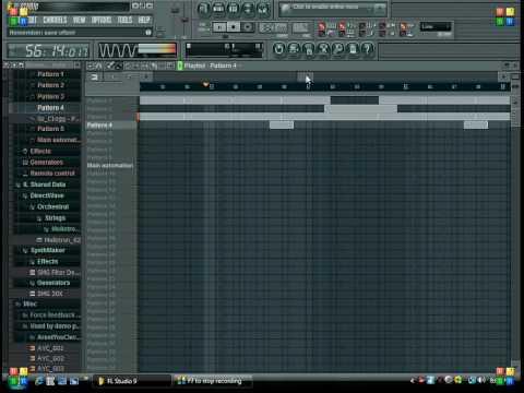 FL Studio 9 Demo- Simple Rap Beat