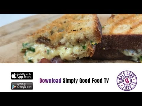 Welcome to my world of food 3rd Vlog The worlds best grilled cheese toastie !!!!