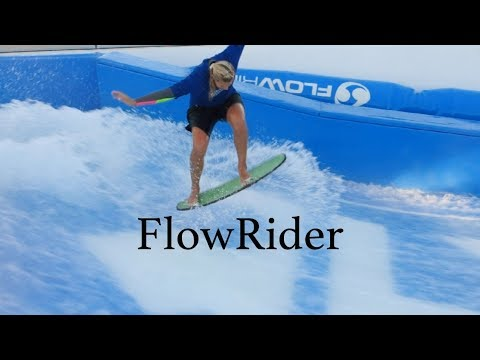 FlowRider- Surf Simulator Anthem of the Seas Cruise (Royal Caribbean's)
