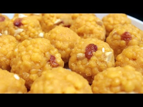 Boondi Ladoo | boondi laddu recipe in telugu