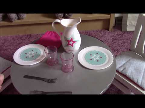 American Girl Dining Table and Chairs Set Review