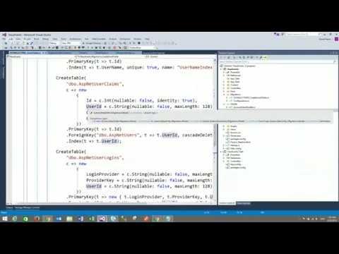 ASP.NET MVC - Model Classes & Database Tables - Video 4
