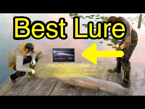 Final Fantasy XV: Best Lure (Big Blaze Bahamut From Quest: Liege of the Lake)