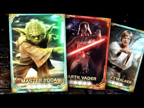 Star Wars Force Collection Tablet Android İOS Video Gameplay Review